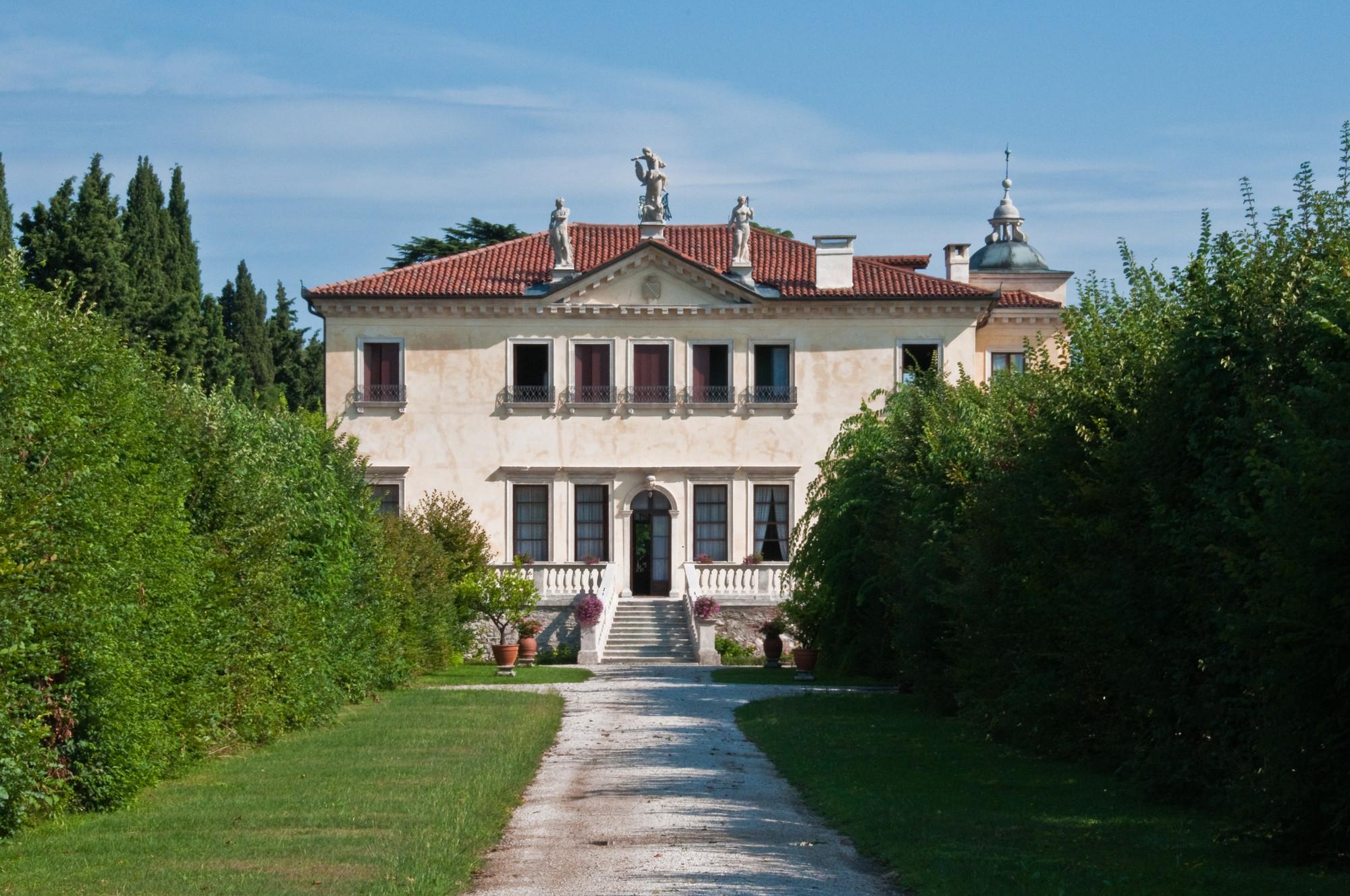 Legado de Andrea Palladio en peligro por futuro tren de alta velocidad en Italia, Villa Valmarana en Vicenza, Italia.. Image © Graeme Churchard [Flickr CC]