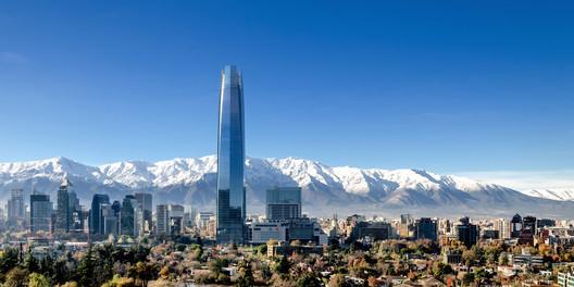 2014 Tallest #10: Torre Costanera, Santiago, 300 meters. Image © Pablo Blanco