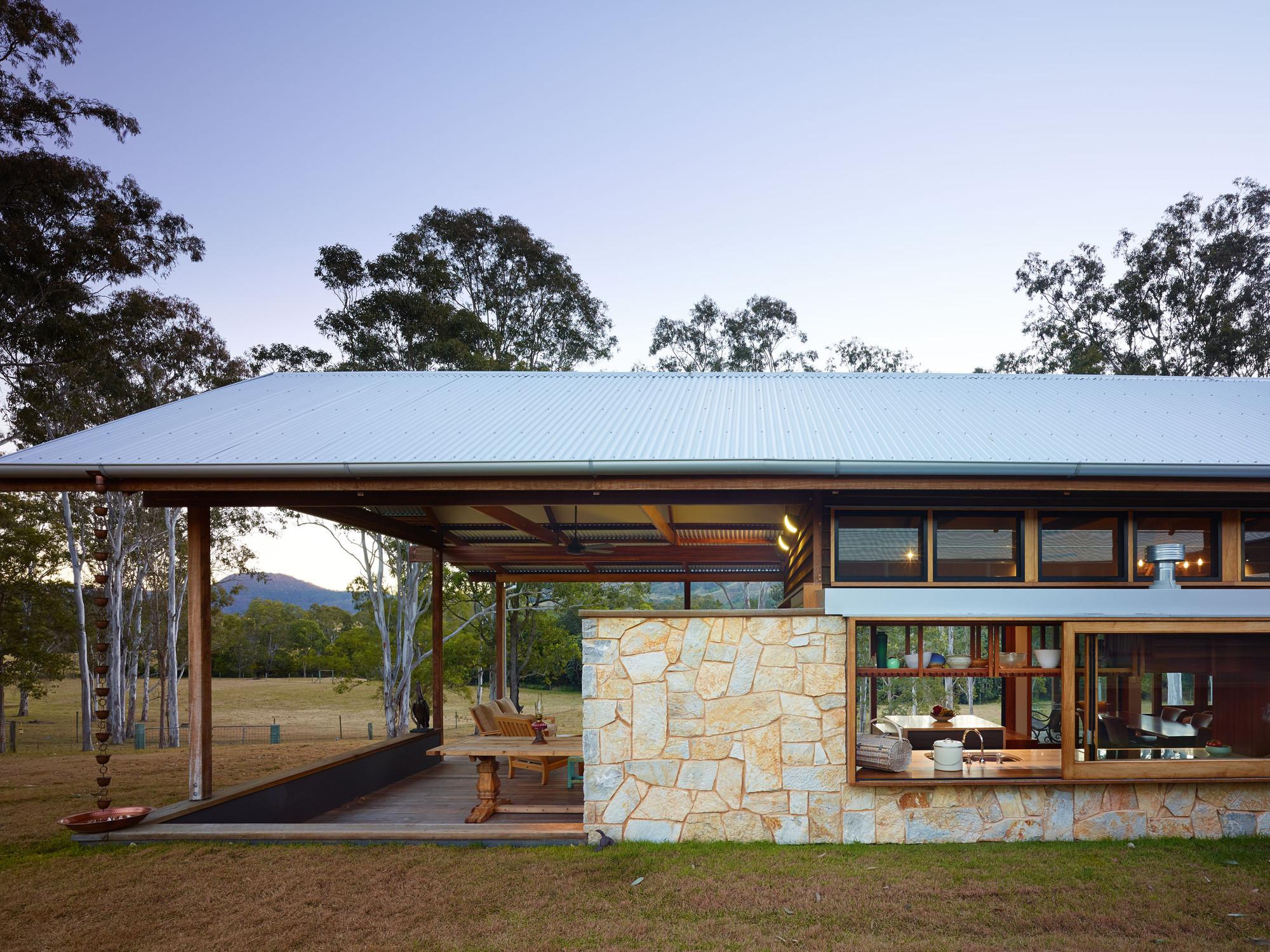 Casa hinterland shaun lockyer architects plataforma for Bush house designs