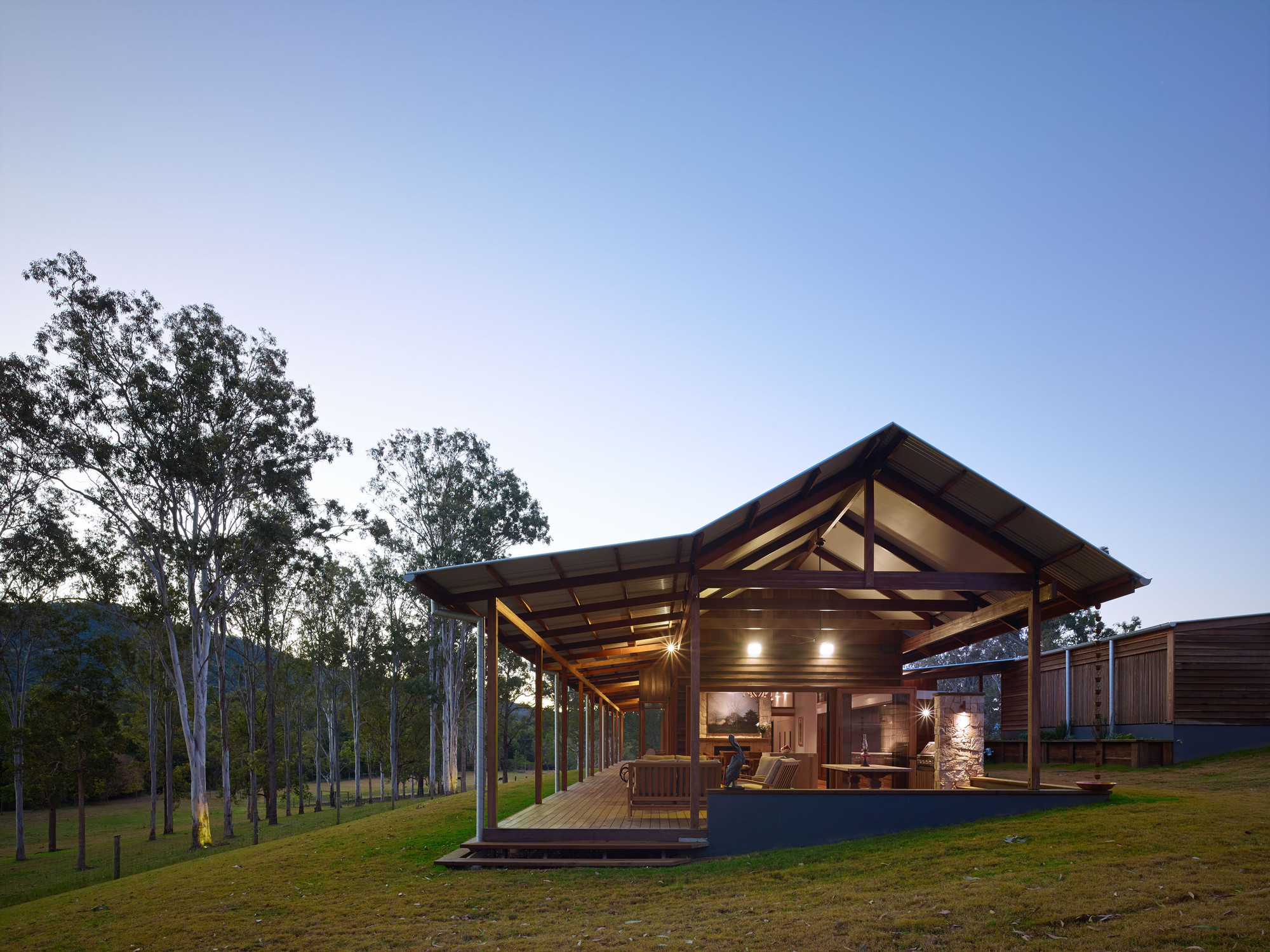 Hinterland house shaun lockyer architects archdaily for Architectural house plans australia