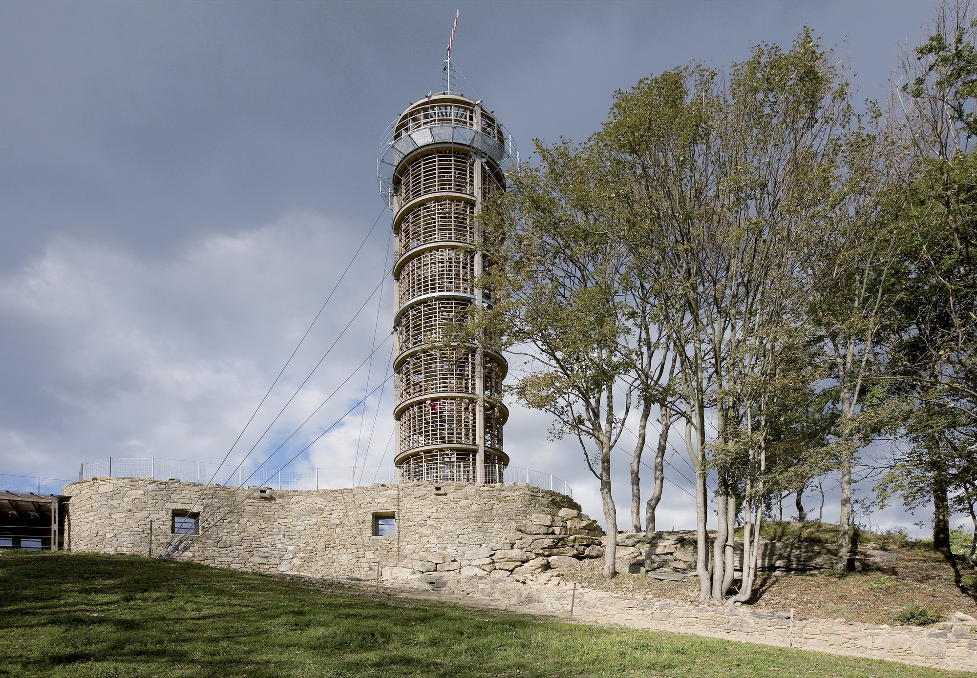 Farol e Museu de Jara Cimran / Hut Architektury Martin Rajnis, © Radka Ciglerova