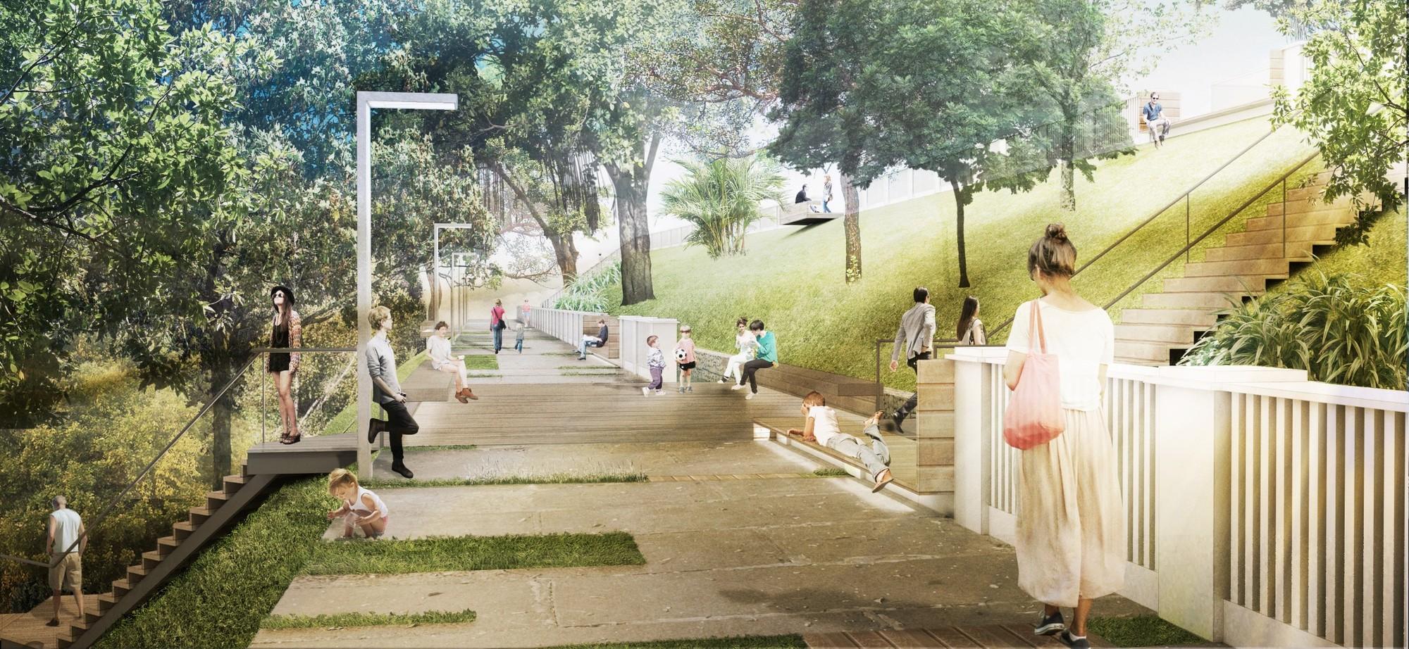 Segundo Lugar no Concurso Nacional Parque do Mirante de Piracicaba / Davis Brody Bond, © Davis Brody Bond Architects and Planners