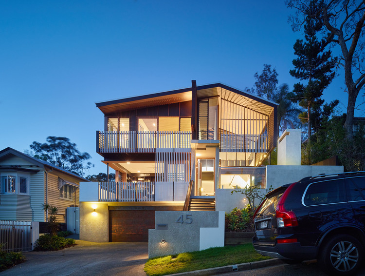 Mackay Terrace / Shaun Lockyer Architects, © Scott Burrows Photography