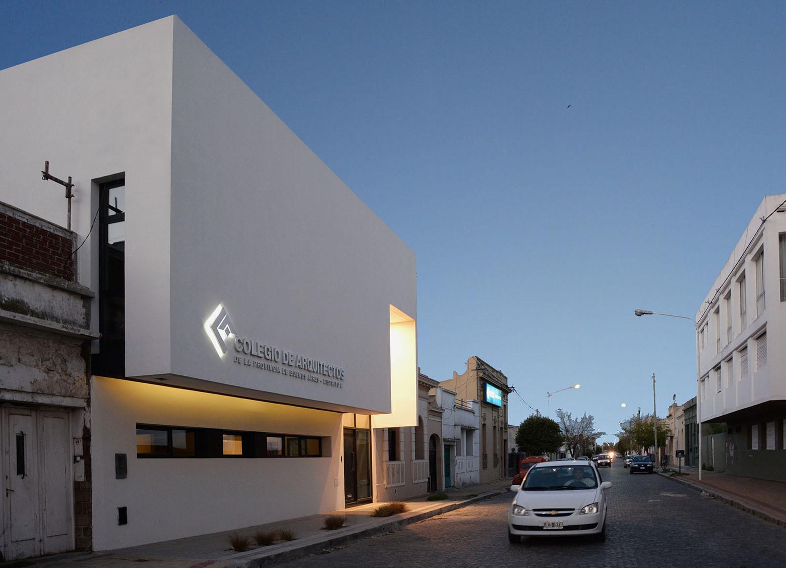 Colegio de Arquitectos de la  Provincia de Buenos Aires / Juan Pablo Denzoin, María Victoria Deguer , Luciana Cicconi, © Laura Deguer