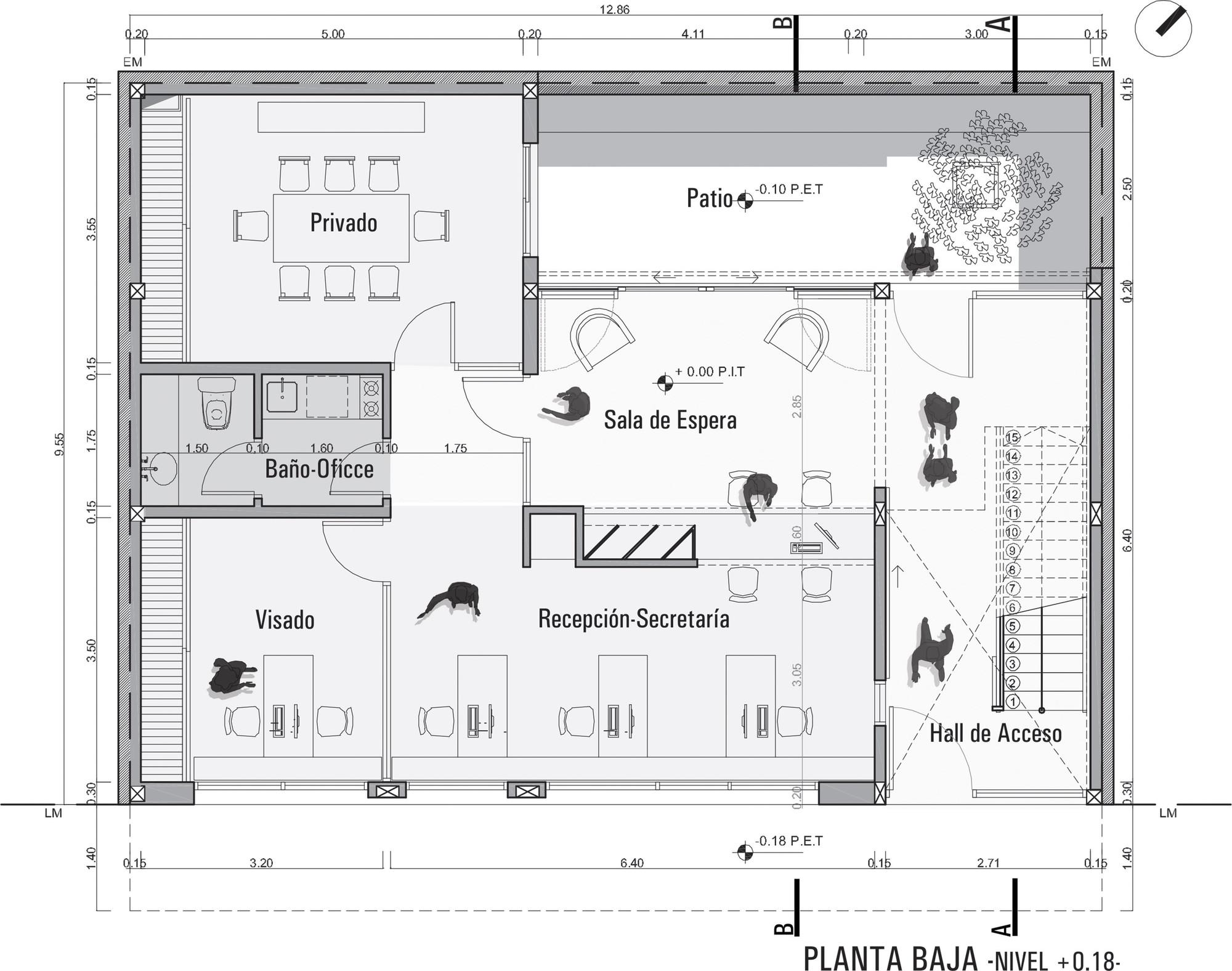 Galeria de col gio de arquitetos da prov ncia de buenos for Como leer planos arquitectonicos pdf
