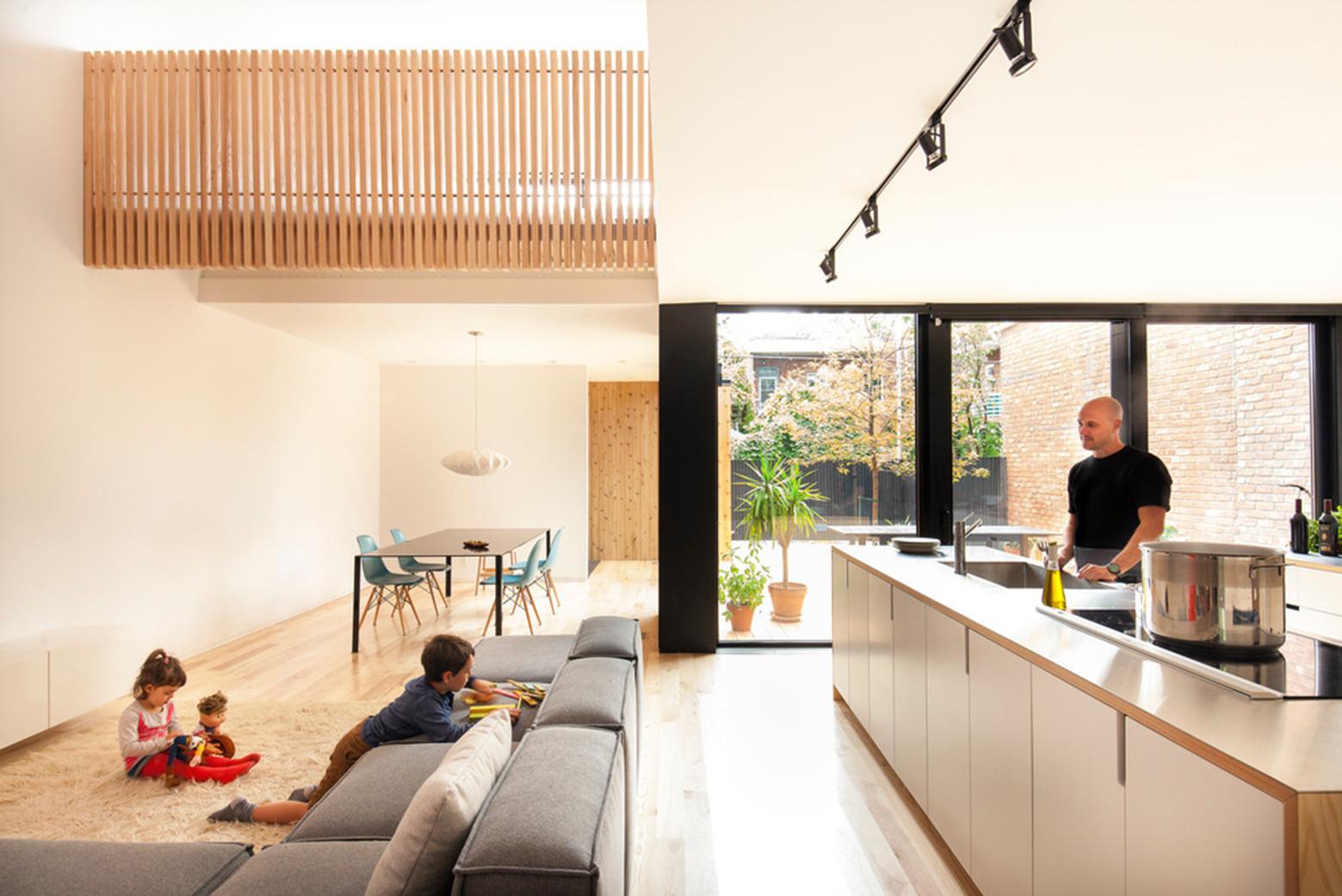 Maison De Gaspé / la SHED architecture, © Maxime Brouillet
