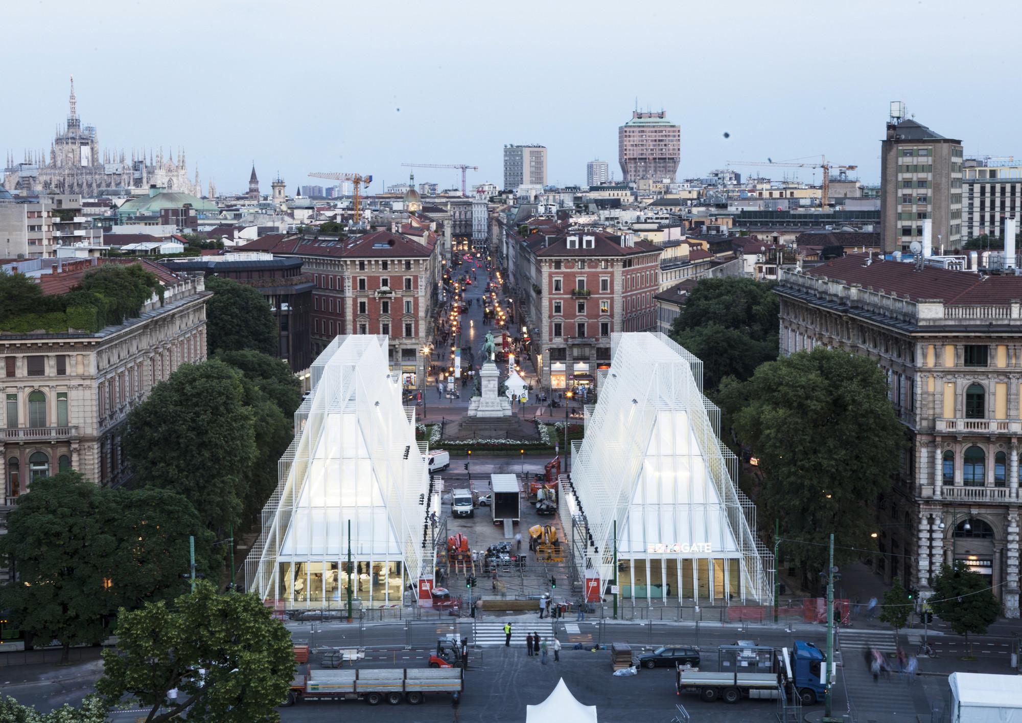 Portão da Expo / Scandurrastudio Architettura, © Filippo Romano