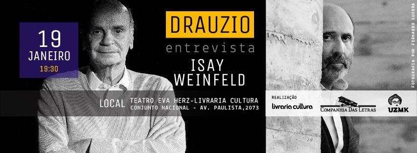 Dr. Drauzio Varella entrevista o arquiteto Isay Weinfeld