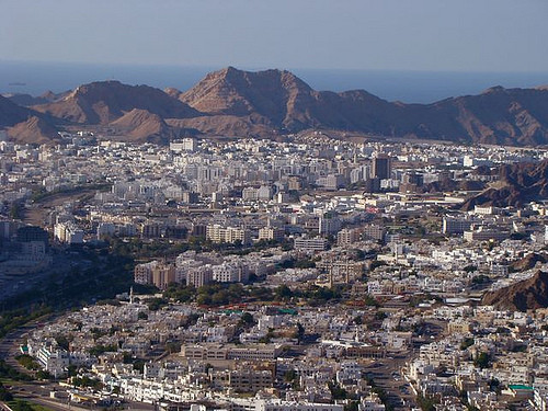 Wadi Kabir, Muscat. Image © Flickr User MOHAMMED RAFIQUE2011
