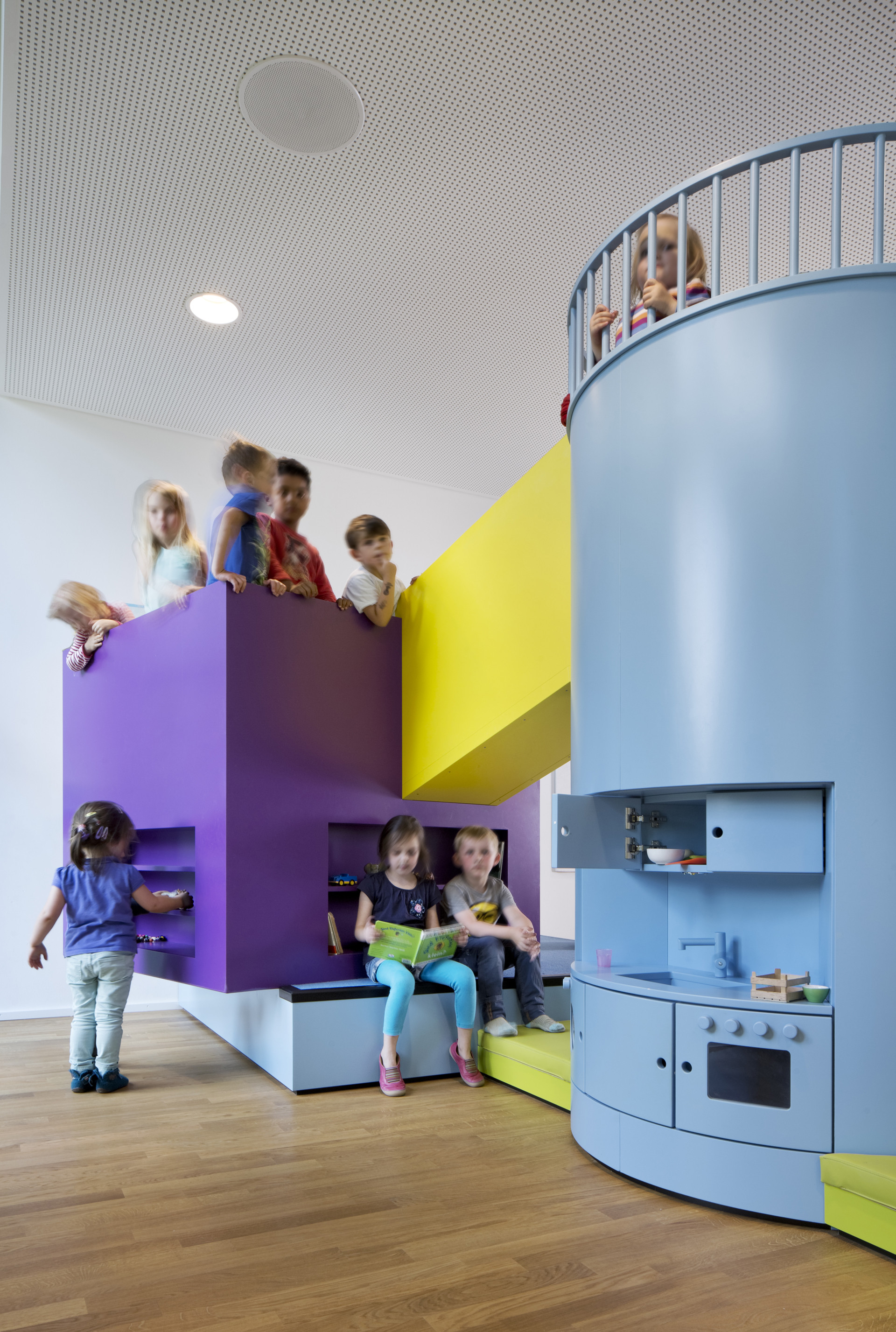 Gallery Of Beiersdorf Children S Day Care Centre