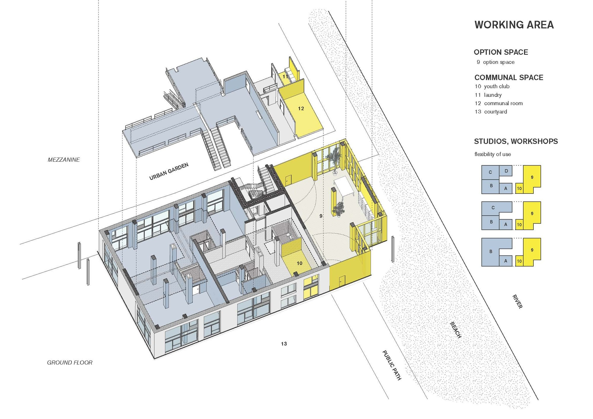 Gallery of coop housing at river spreefeld carpaneto for Barrier free house plans