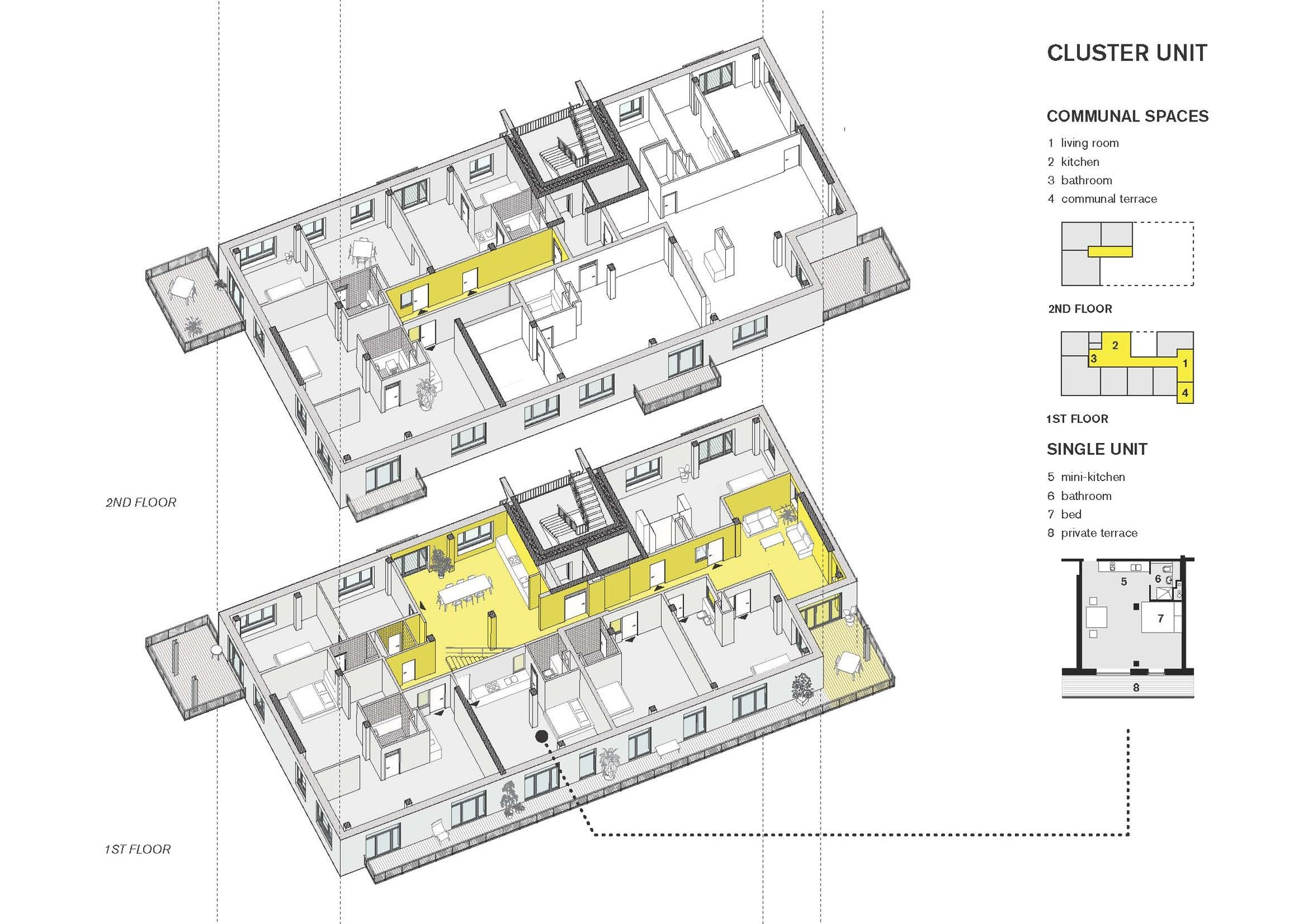 Large Kitchen Floor Plans Gallery Of Coop Housing At River Spreefeld Carpaneto