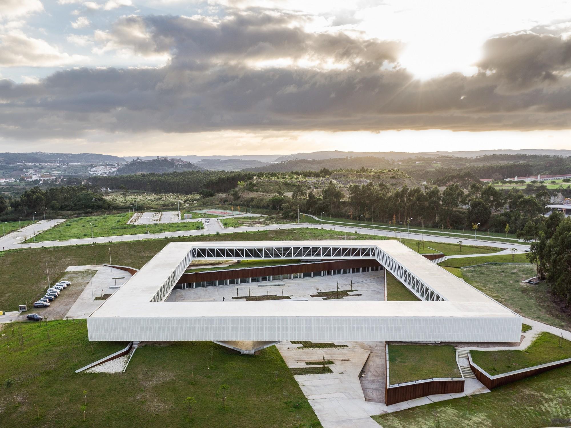 Parque tecnológico en Obidos / Jorge Mealha, © João Morgado