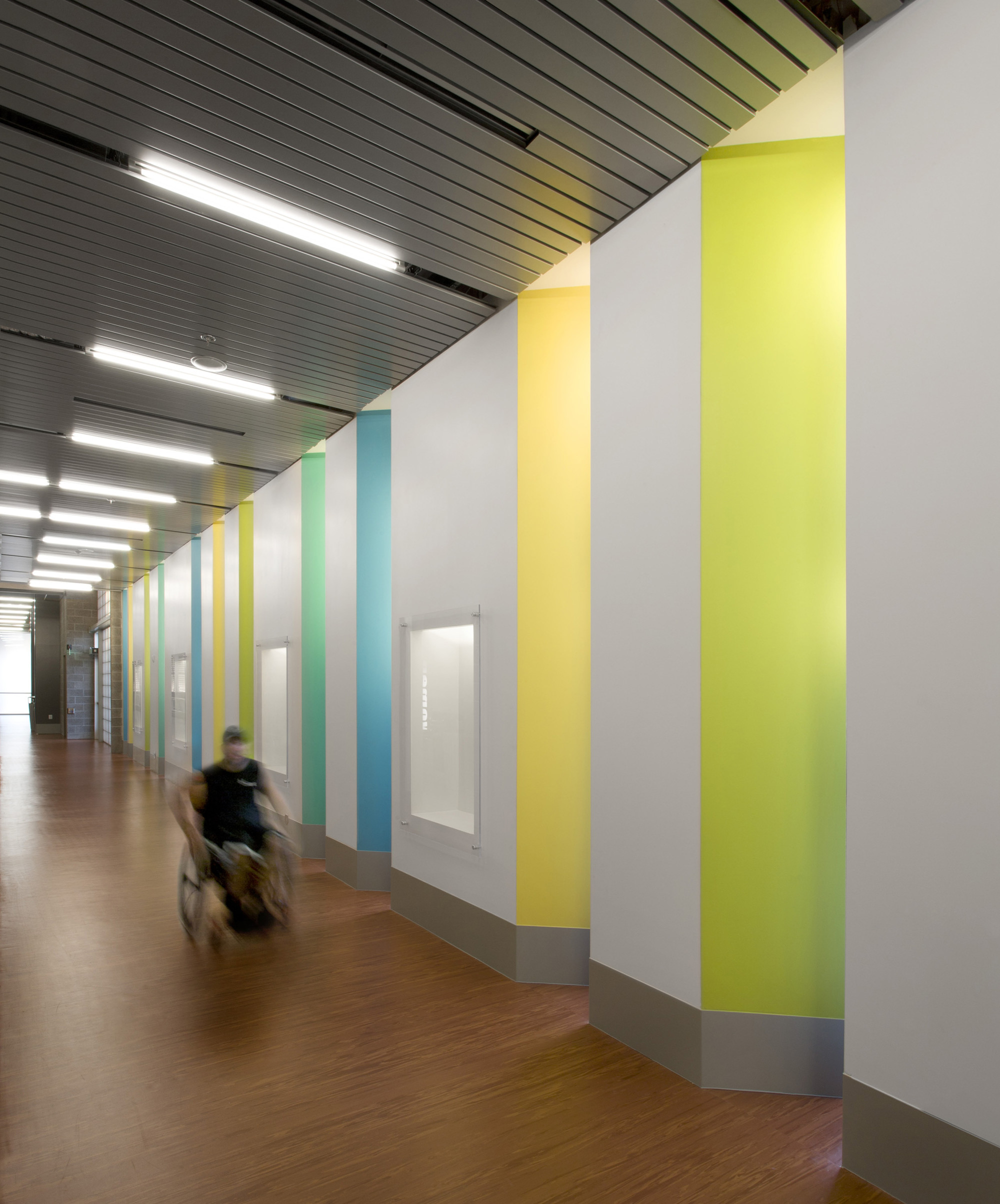 Corridor Design: Gallery Of Sport And Fitness Center For Disabled People