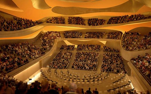 Sala da filarmônica. Cortesia de Philharmonie de Paris Arte Factory