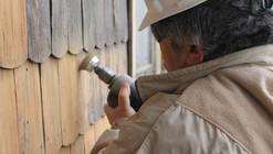Restauración de tejuelas de madera en Aysén, Chile: empoderando a los maestros locales