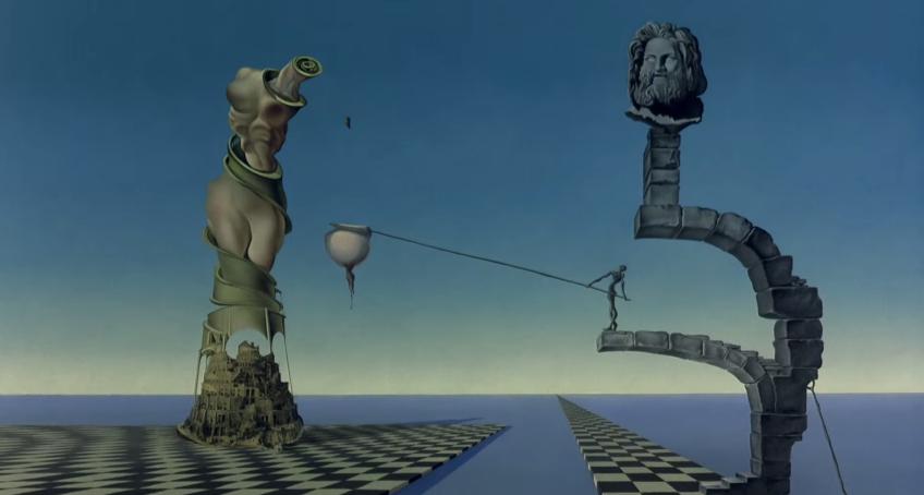 """Cine y Arquitectura: """"Destino"""", una colaboración entre Walt Disney y Salvador Dalí, © Walt Disney Pictures"""