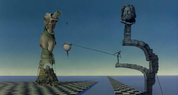 """Cinema e Arquitetura: """"Destino"""", uma colaboração entre Walt Disney e Salvador Dalí, © Walt Disney Pictures"""