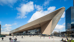 Estación central de Rotterdam / Benthem Crouwel Architects + MVSA Architects + West 8
