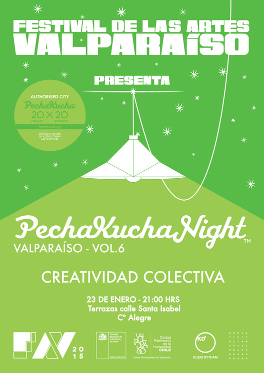 Pechakucha Night Vol.6: creatividad colectiva / Valparaíso, Chile
