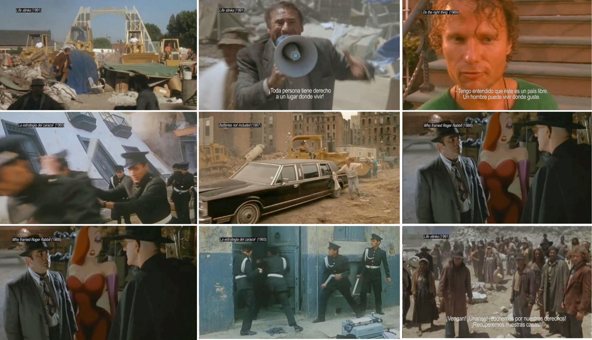 Cine y conflictos urbanos: la ficción como un registro inmobiliario