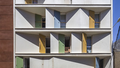 8 Inscribed Houses and Three Courtyards / Romera y Ruiz Arquitectos