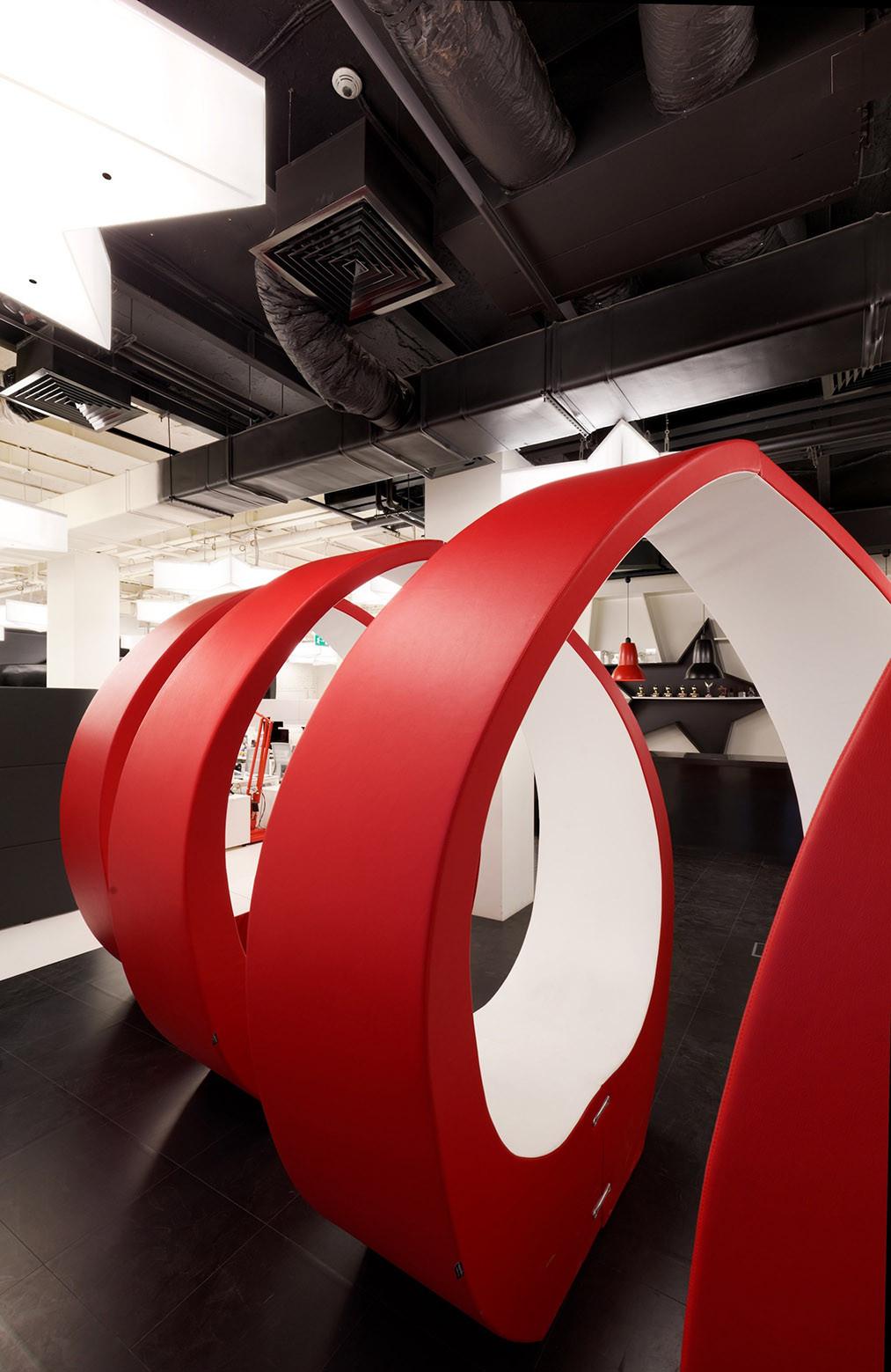 nefa architects leo burnett. Leo Burnett Moscow / Nefa Architects