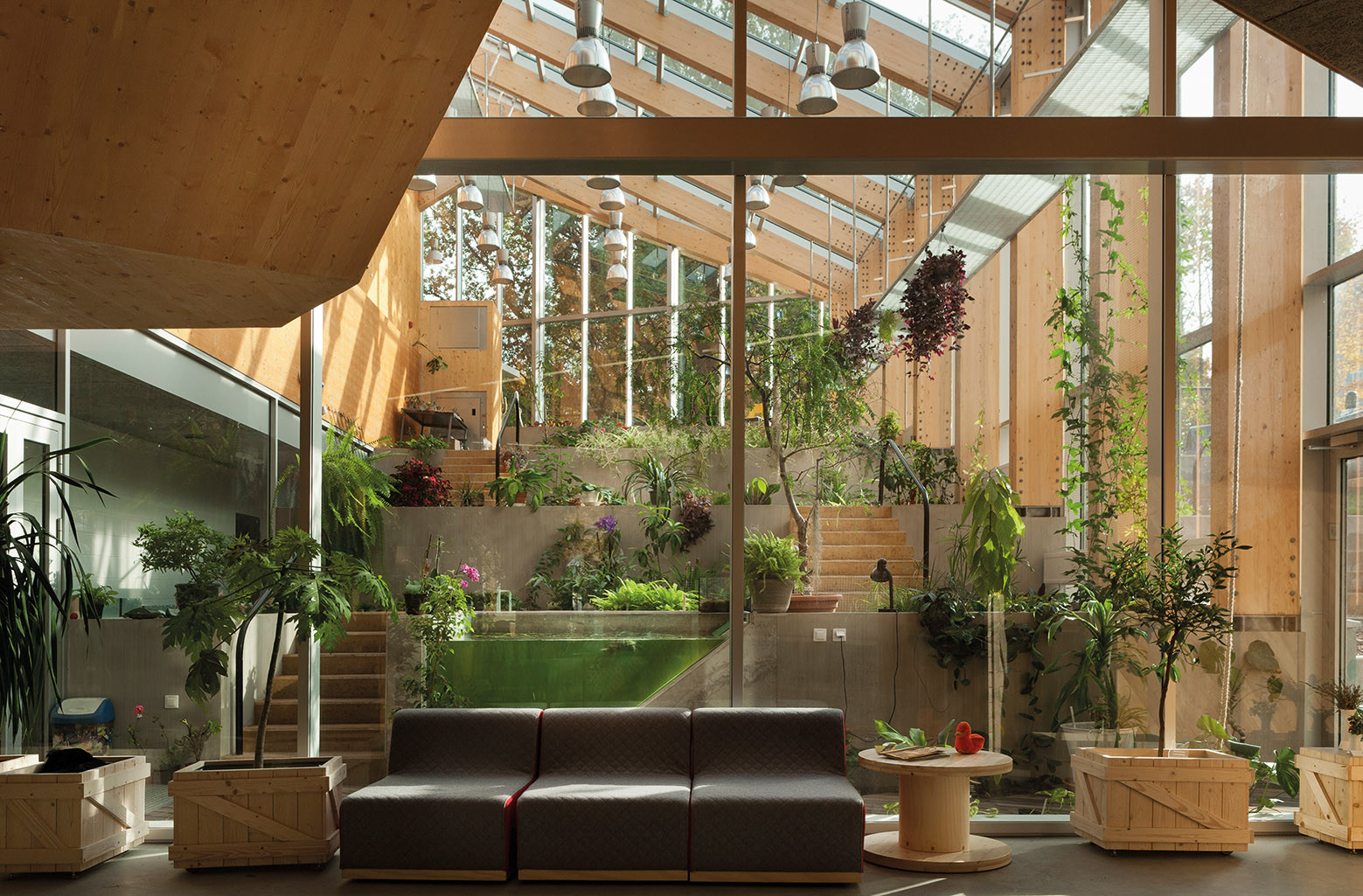 Gallery of tartu nature house karisma architects 8 for Indoor nature design challenge