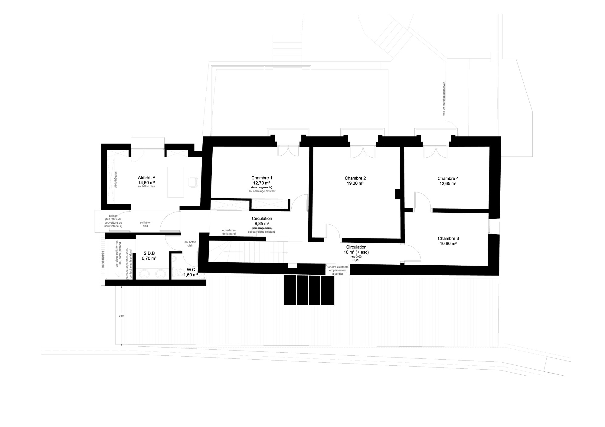 Latest Floor Plan With Plan Maison Rectangle