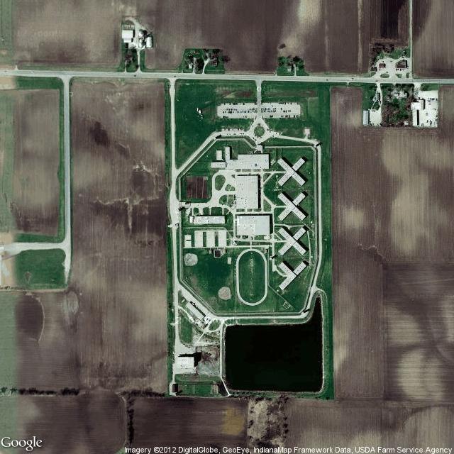 ¿Cómo se ven las cárceles desde el cielo?, © Prison Map [Google Maps]