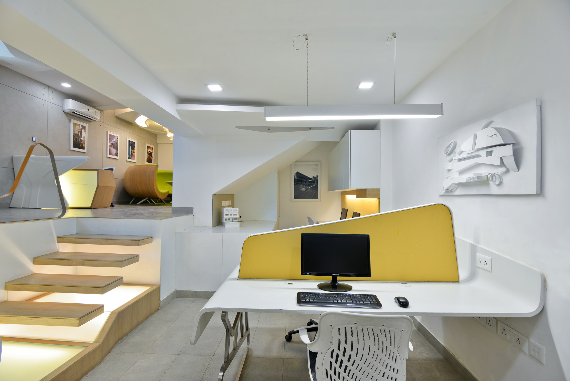 Gallery of architect s office spaces architects ka 3 for Space architecture and design