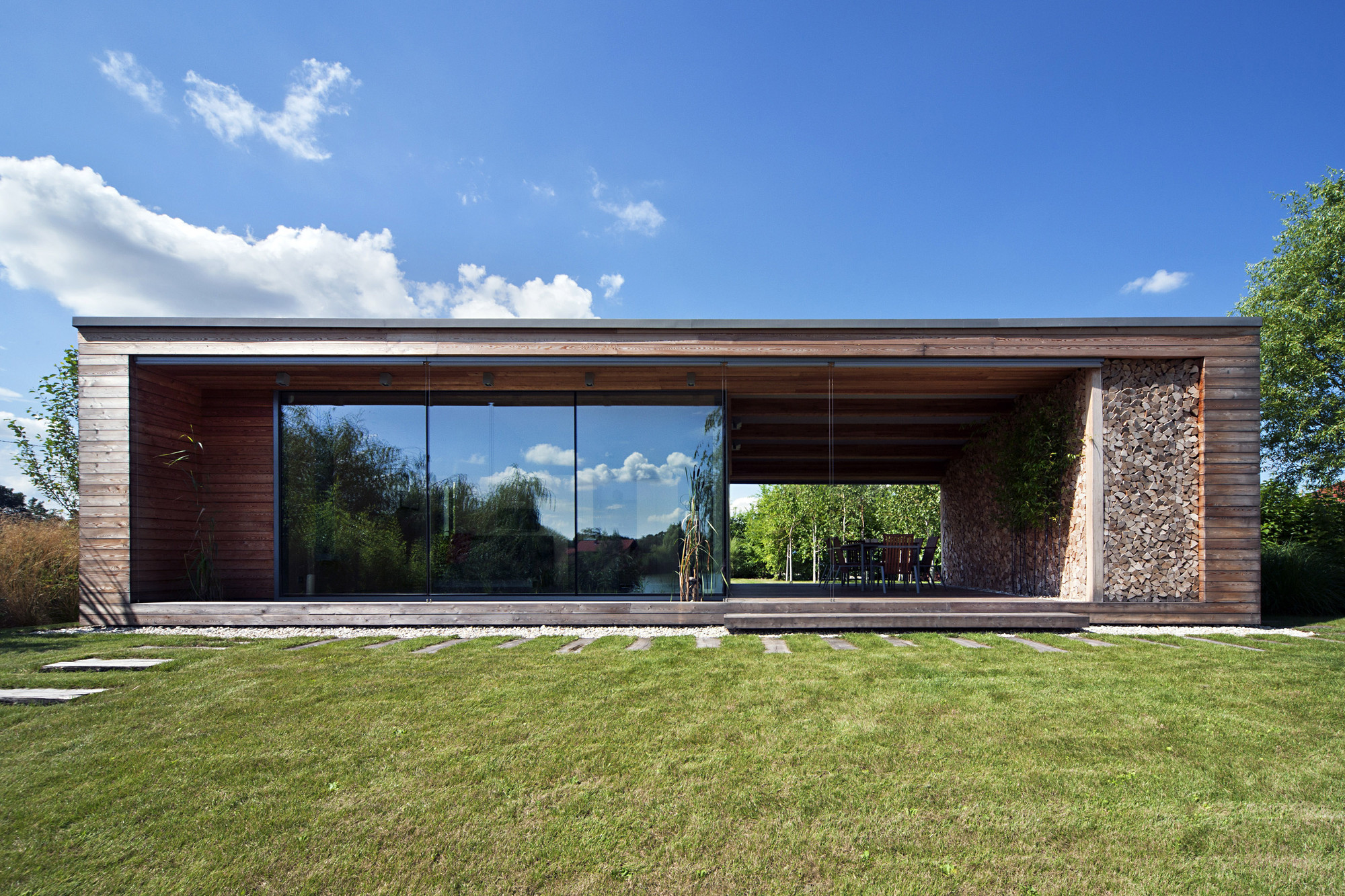 Gallery Of Holiday Cottage Toth Project Architect Office 14