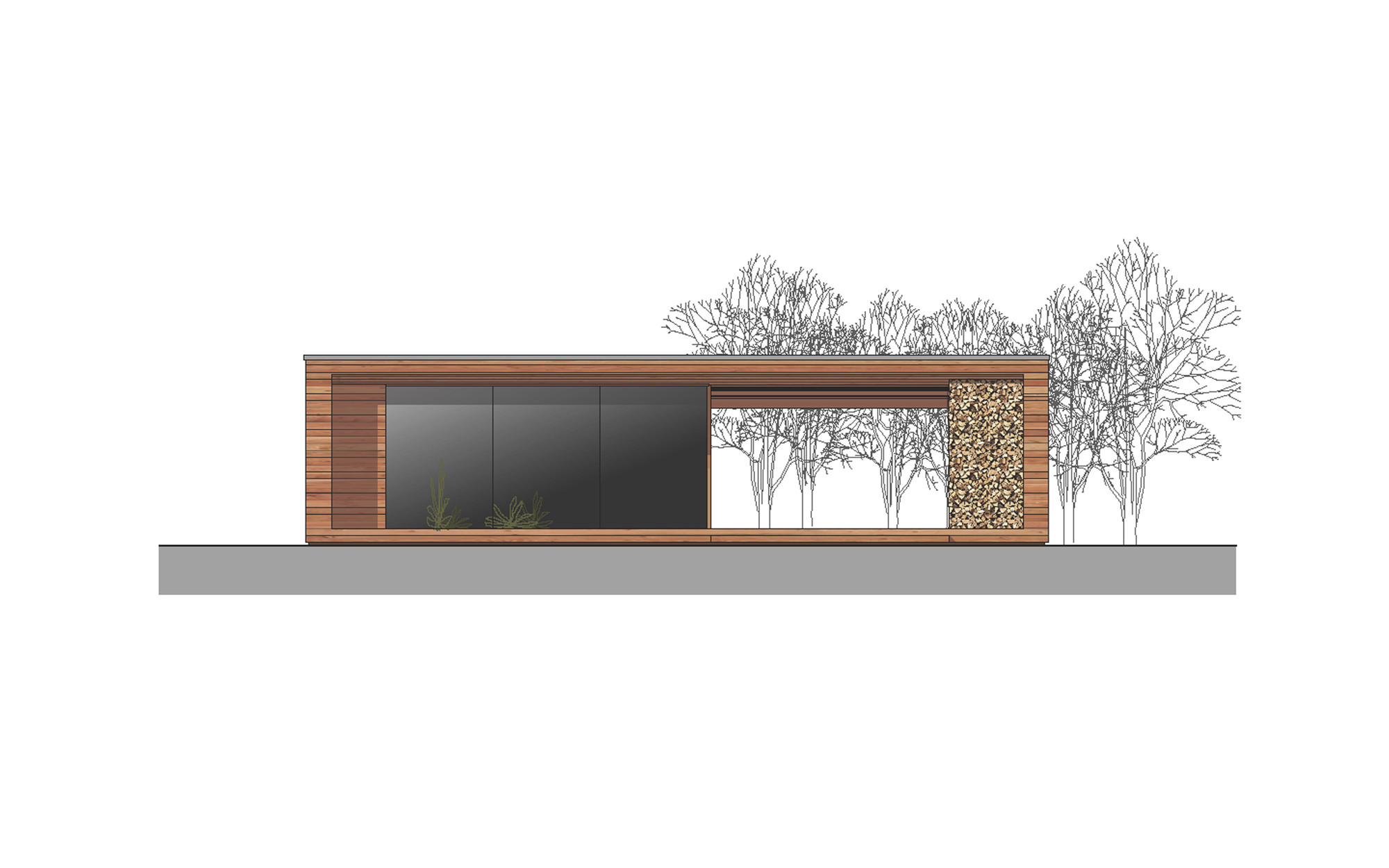 Gallery Of Holiday Cottage Toth Project Architect Office 19