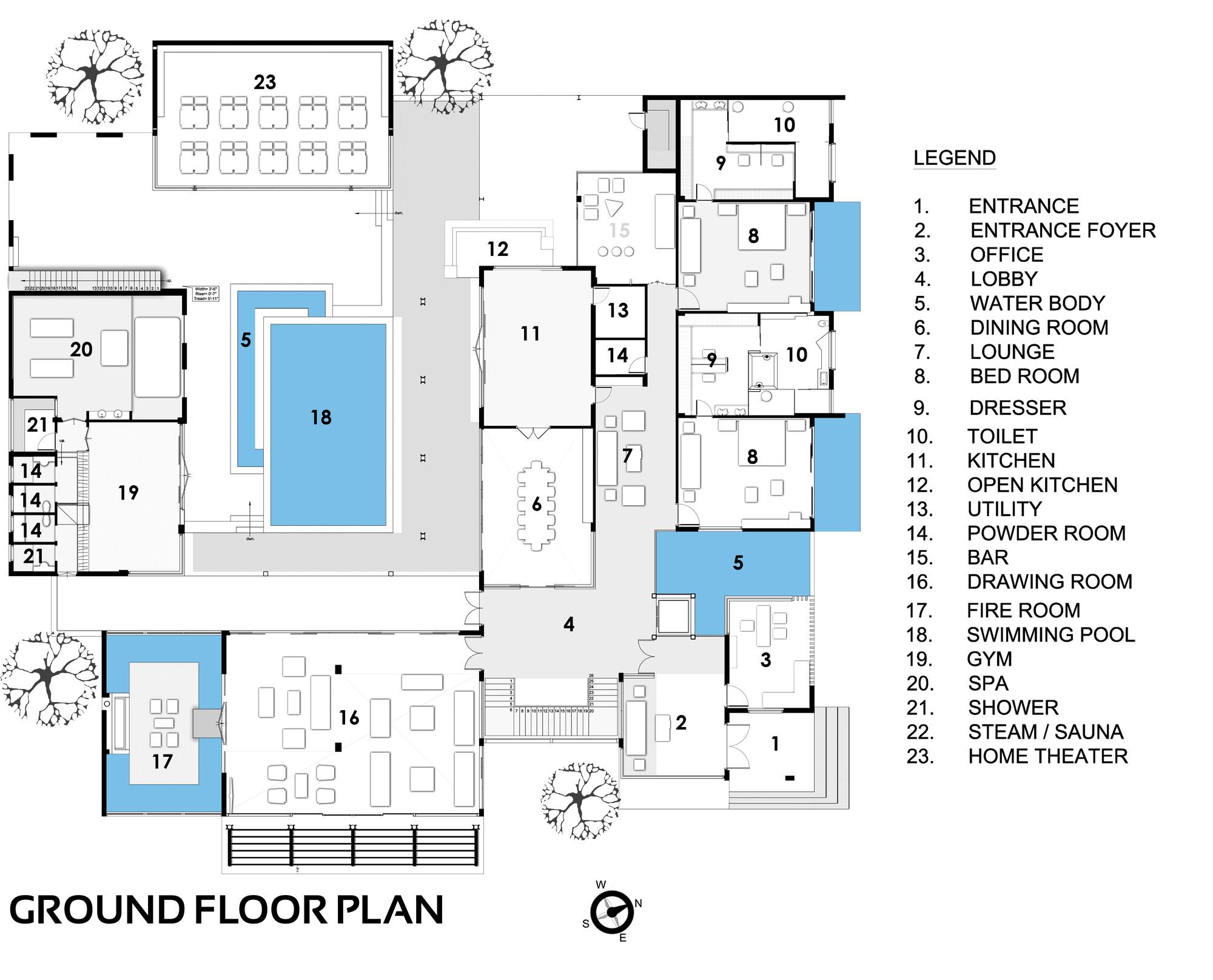 Casa da fazenda sachdeva spaces architects ka for Bo architecture 4 1