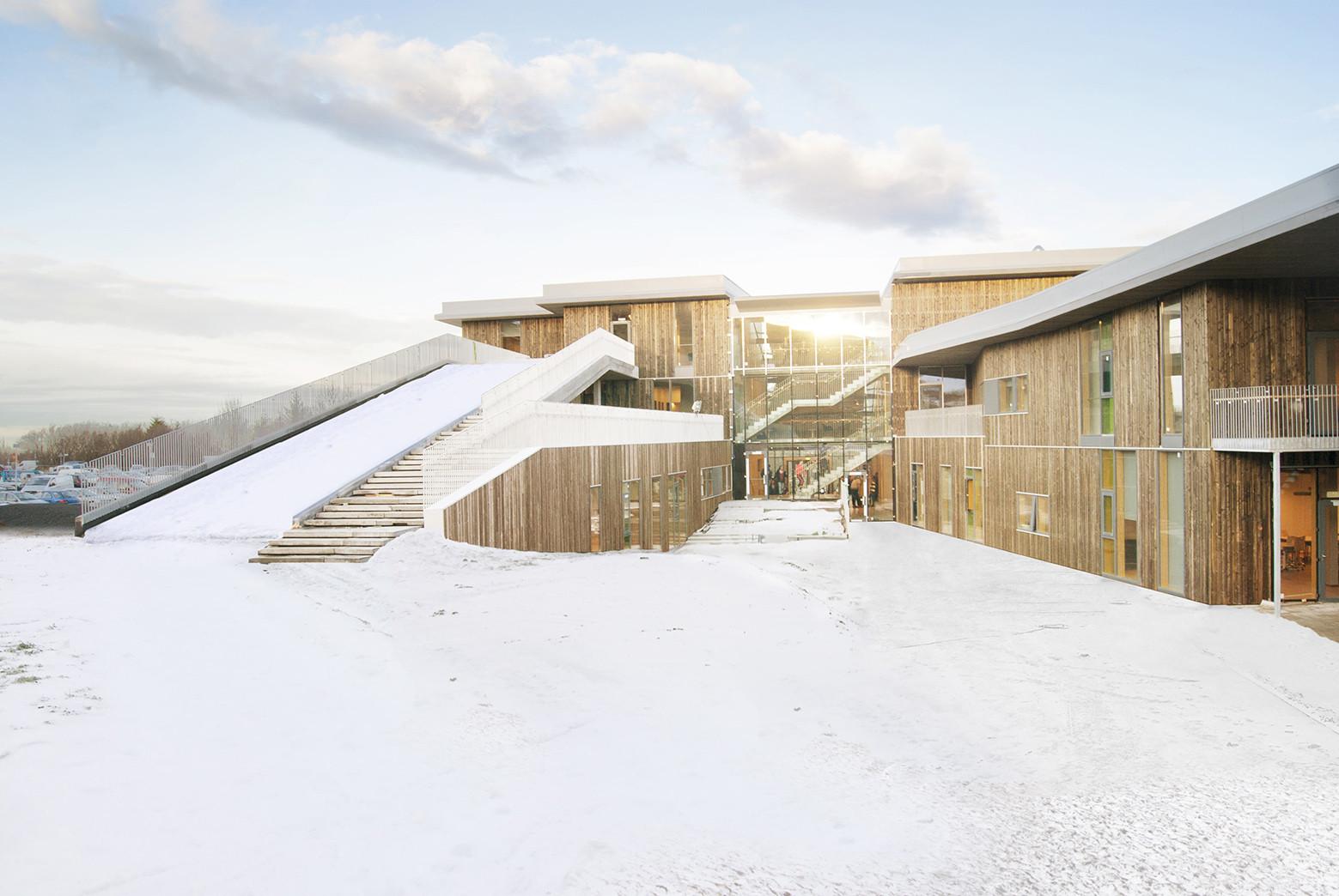 Mosfellsbær Preperatory High School / A2F arkitektar, Courtesy of A2F arkitektar