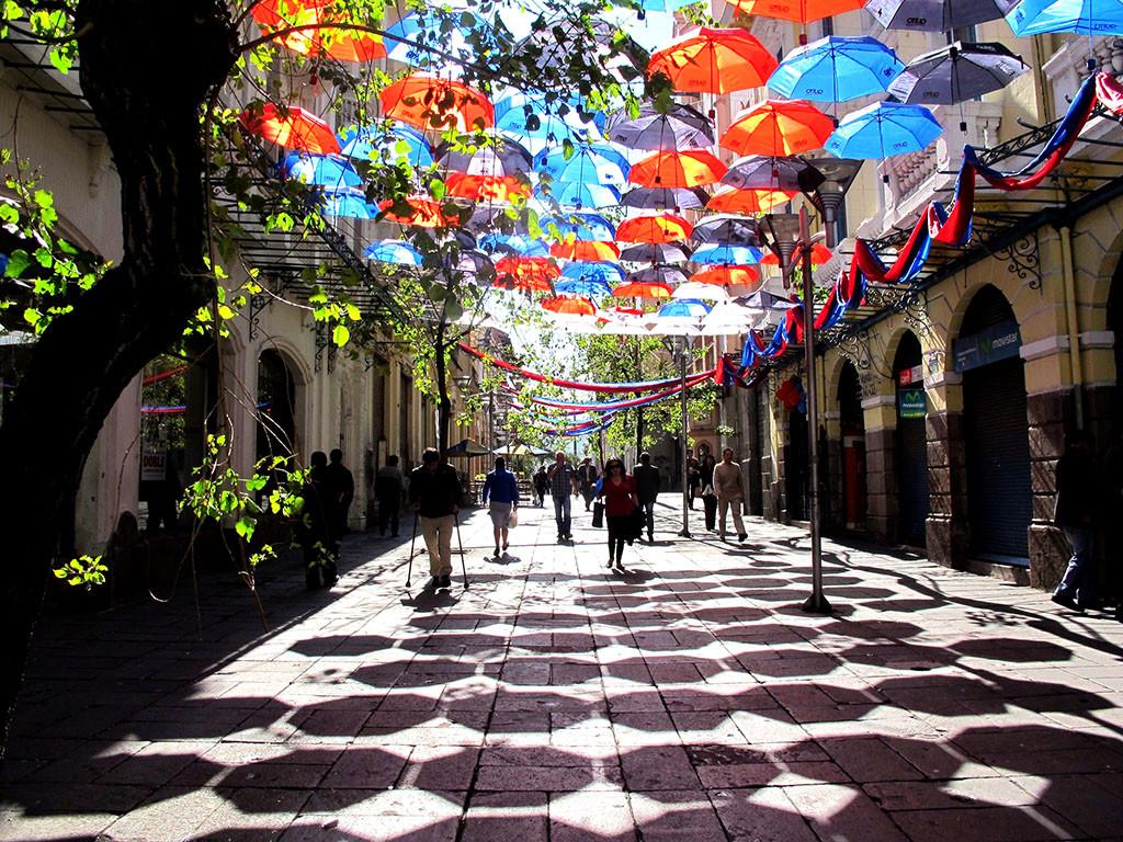 BAQ 2014: Tres intervenciones urbanas para reflexionar sobre el espacio público, Paraguada. Image Cortesia de XIX Bienal Panamericana de Arquitectura Quito