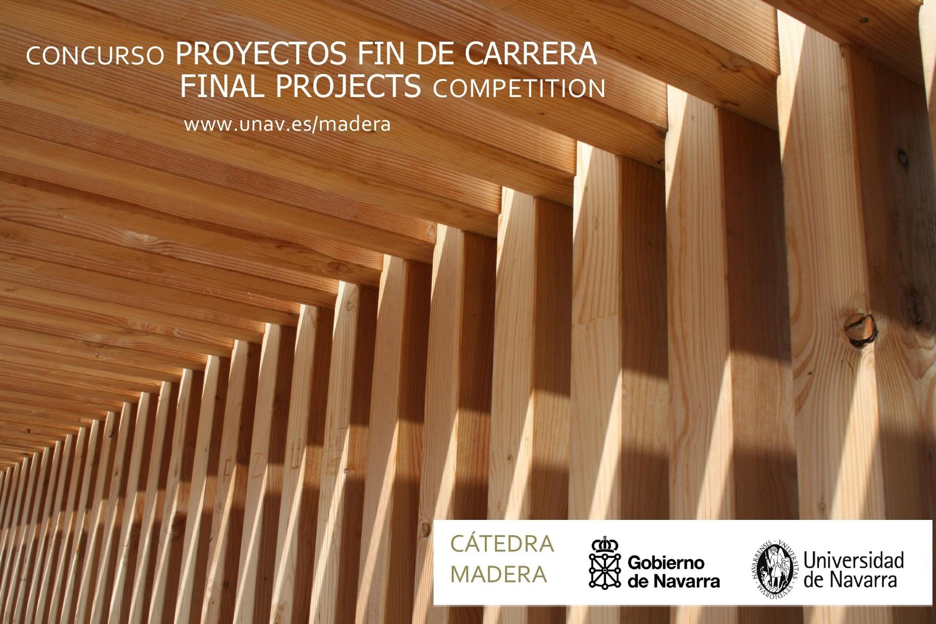 II Concurso de Proyectos Fin de Carrera 2015 / Universidad de Navarra