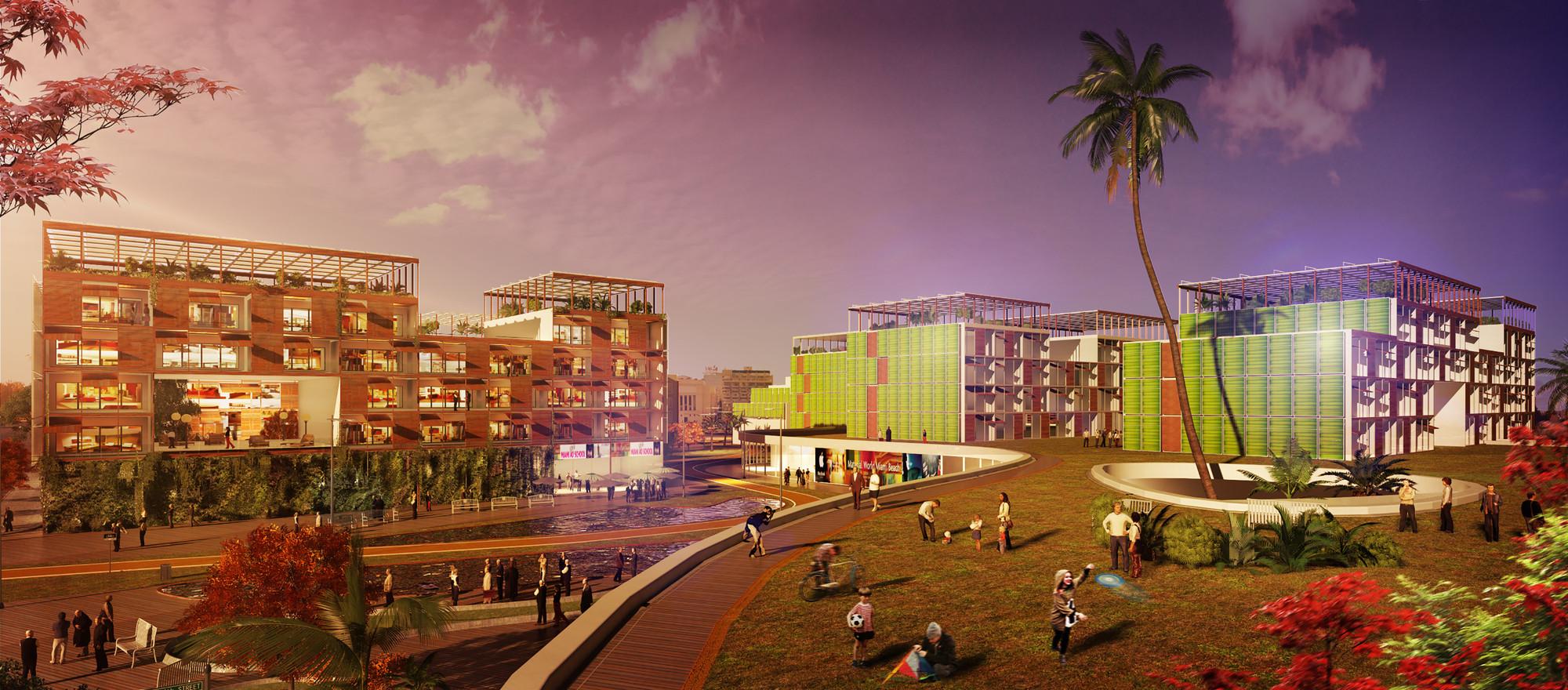 Concurso Internacional 'Architecture at Zero': Symbiosis, viviendas en modo energía cero, Cortesia de Equipo Ganador