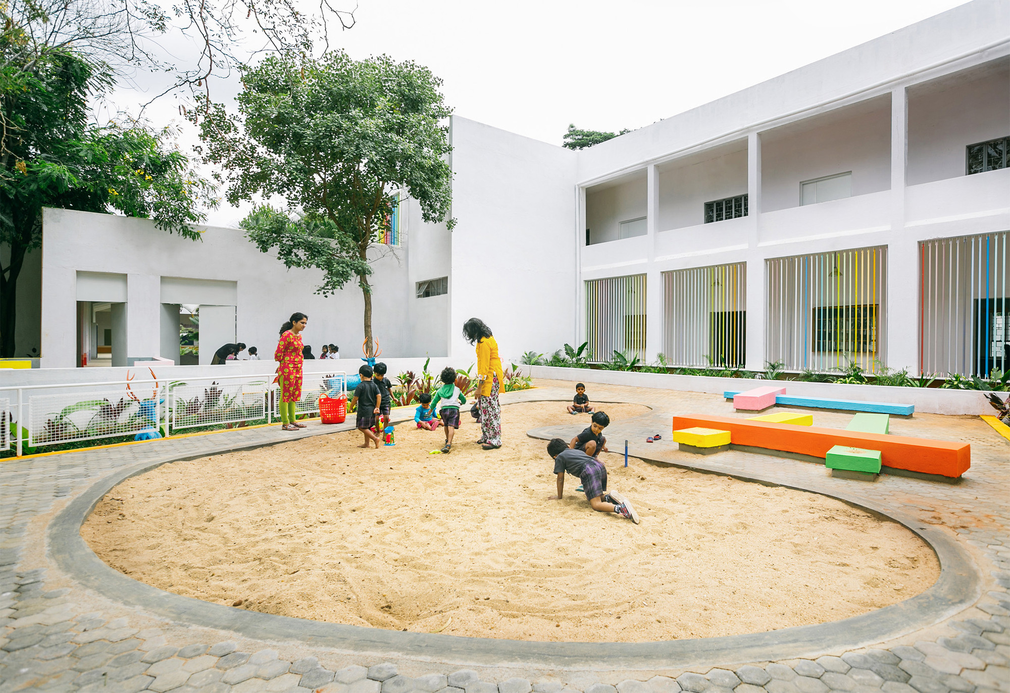 Ekya Early Years Kanakapura Road / CollectiveProject, © Tina Nandi Stephens