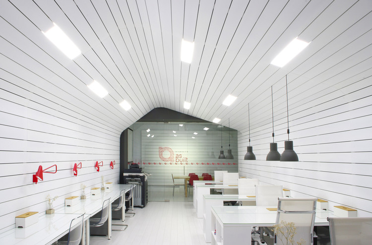 Office for Architecture Studio and Coworking Space / As – Built, © Moncho Rey