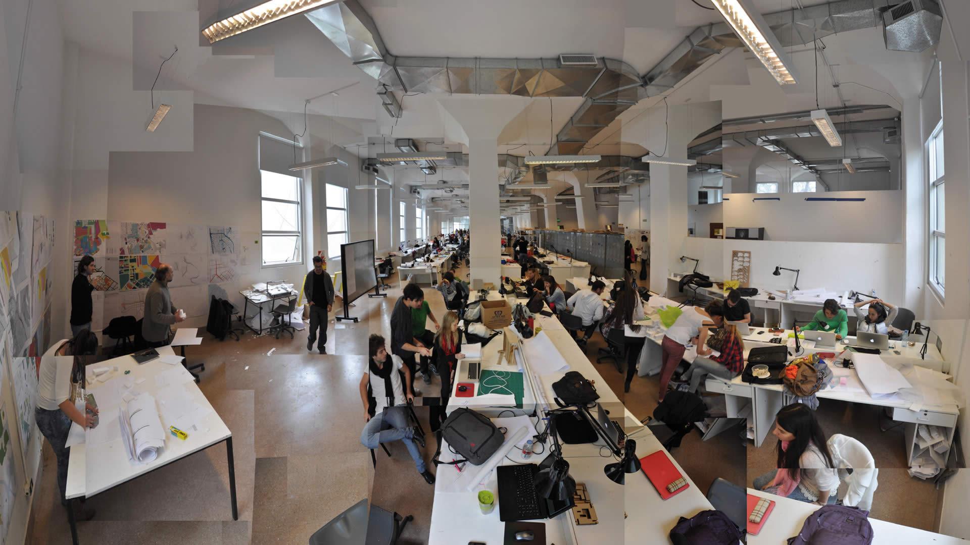 As faculdades de arquitetura das 50 melhores universidades for Mapa facultad de arquitectura