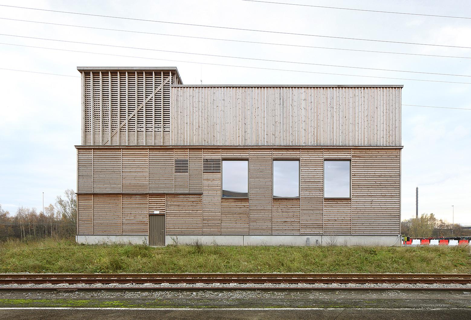 Firestation Berendrecht Bovenbouw Archdaily