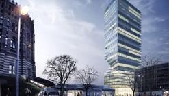 MVRDV vence concurso para construir torre torcida de vidro em Viena