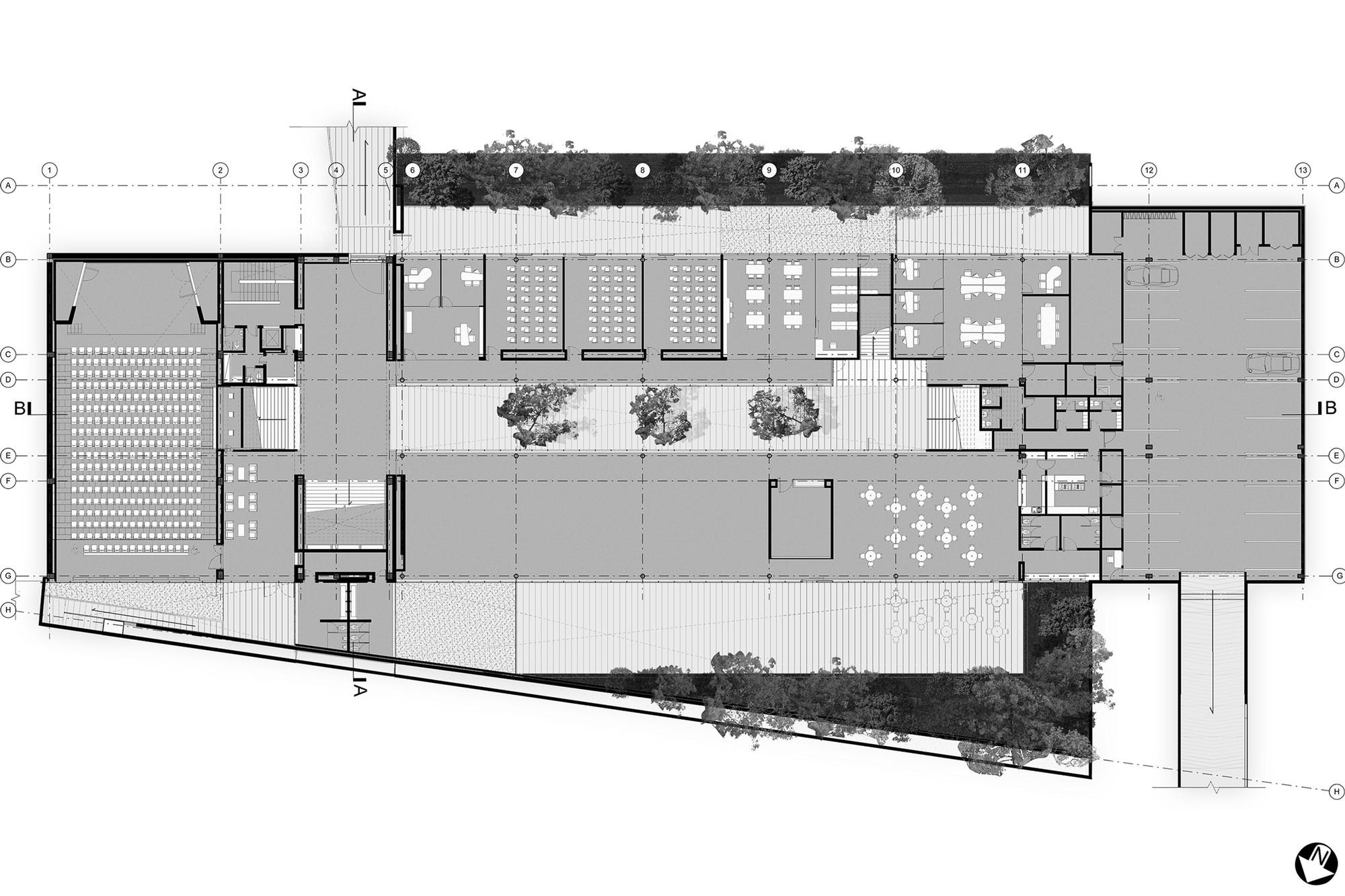 Gallery of memory peace and reconciliation center juan - Cm arquitectos ...