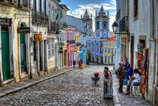 Pelourinho, Salvador-BA. Image © Gabriel Franceschi, via Flickr, Creative Commons