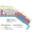 Diagrama de espaços públicos. Image Cortesia de Estudio America