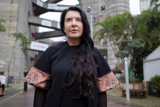 Exposição de Marina Abramovic em São Paulo, Marina Abramovic em visita técnica ao Sesc Pompeia. Foto: Divulgação