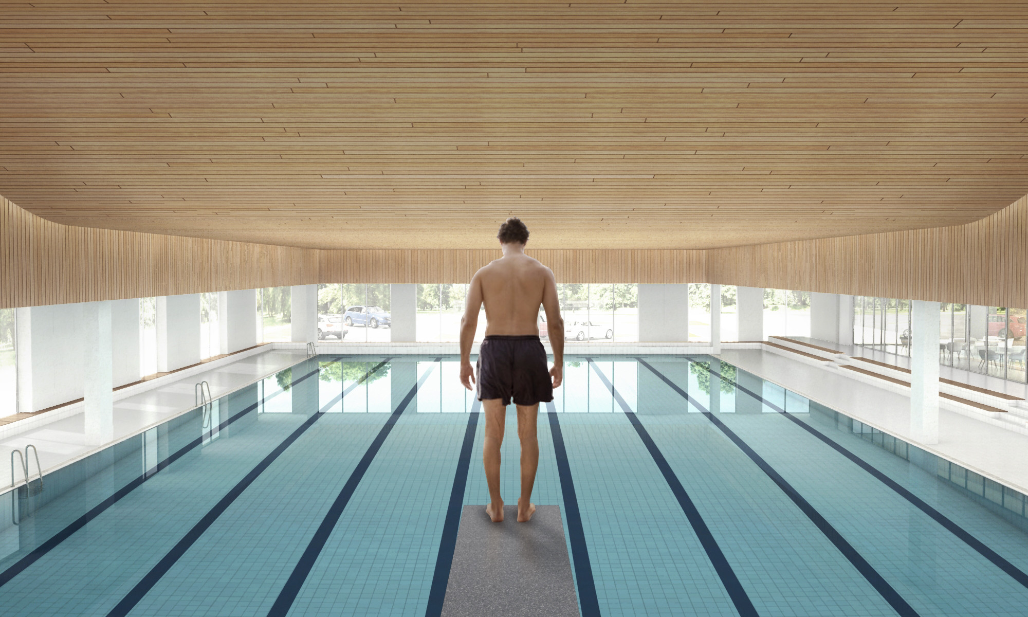 Gallery Of Creo Arkitekter And Jaja Architects To Restore And Expand Roskilde Swimming Hall