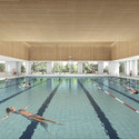 Olympic Pool. Image © CREO ARKITEKTER A/S & JAJA architects