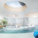 Activity Pool. Image © CREO ARKITEKTER A/S & JAJA architects